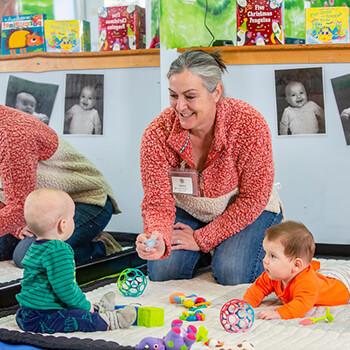 Toddle Inn Teacher with Infants