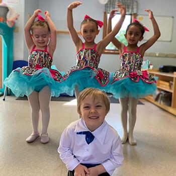 Dancing activities at Toddle Inn