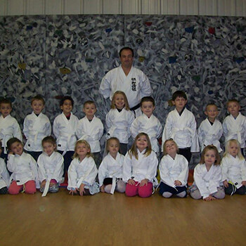 Karate lessons at Toddle Inn